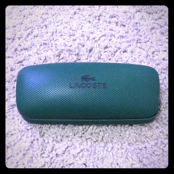 6cda7ce471e Lacoste Accessories - Green Lacoste Eyeglass Case